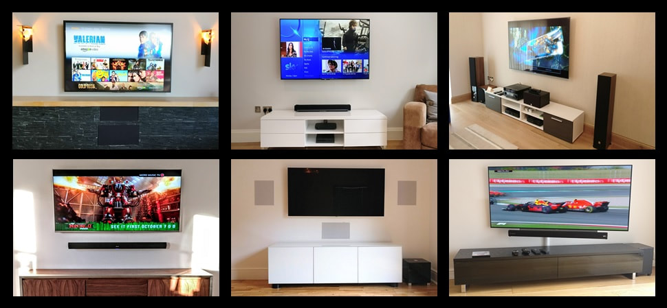 Click to see more of our TV wall mounting Installations at our Instagram page.